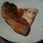 フォルトゥーナ - ピザの周りがクロワッサン⁈