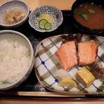 17043285 - 鮭の西京焼き(850円)
