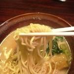 光麺 - 太麺