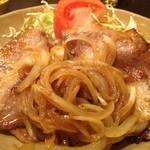 萬福食堂 - 生姜焼き定食750円