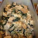 アジアンランチ - 2回目2013年1月29日沖縄 お婆料理 ズッキーニと豚肉の琉球煮「ンプシー」
