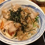 ひさし鍋焼ラーメン - サラダらうめん