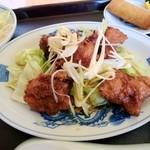 龍泉飯店 - 鳥からの 甘辛酢がけ