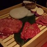 焼肉 天 がむしゃら - お肉