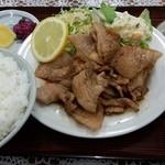 美代志食堂 - 焼肉定食(並)