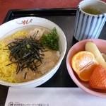 新南愛知カントリークラブ - 2013.01 ミニ丼セットの鯛のづけ丼のみ(700円くらい?)