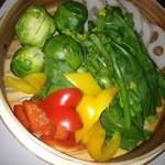 温たいむ - 季節野菜のセイロ蒸し