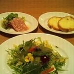 武蔵野食堂  - ディナーセット