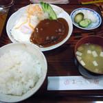 17048417 - 「ハンバーグ定食」850円