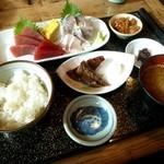 17049365 - 刺身定食(1575円)