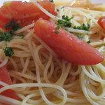 1705797 - フルーツトマトとアンチョビのペペロンチーノ +300