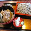 生蕎麦 古志川 - 料理写真:野菜天重セット せいろ大