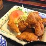 民芸茶屋 味蔵 - 地鶏の唐揚げ?