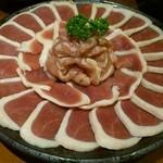 ブン(豊) - 鴨のハリハリ鍋  肉2人前
