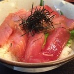 華にしき - マグロ漬丼