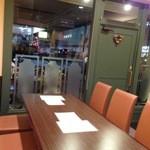 きなり食堂 - 店内テーブル席