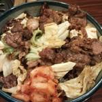 17053366 - キャベツ丼(キャベツと牛肉)¥830(H25.1.29撮影)