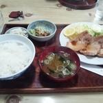 丸とし - 焼肉定食 750円