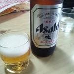 丸とし - ビール650円