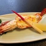 くぼ田 - 車海老のチーズ焼き