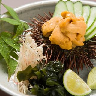 長浜港から毎日入荷する魚貝のお造りは最高です!