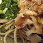 佐佳枝亭 - 「おろし蕎麦」アップ