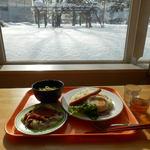北海道工業大学 HITプラザ食堂 - 朝昼ご飯です♪