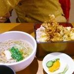 寿司 創作料理  一幸 - 季節天重と鶏ソバ膳