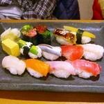 寿司 創作料理  一幸 - 大量にぎり