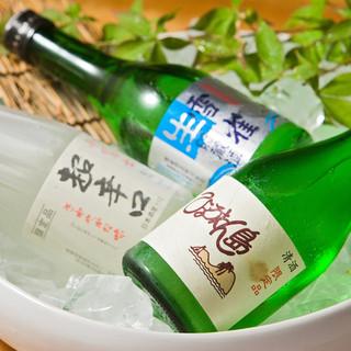 愛媛の地酒、冷酒など、日本酒メニューも豊富です