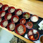山猫軒 - 料理写真:わんこそばセット