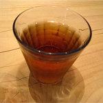 タレカツ - 冷たいお茶