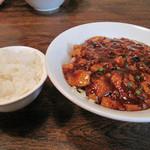 チャイナダイニング 劉 - ランチタイムなら白ご飯を付けても+50円!