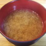 焼とり 鳥玄 - 味噌汁