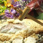 美食好房 かくれ庵 - 歓送迎会や祝い宴会に!鯛の鏡割りコース