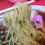 17061973 - 和歌山スタンダードな中細ストレート麺はちと柔らかめ