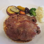 Anzeroan - イベリコ豚のソテー バルサミコソース
