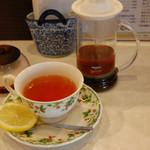 喫茶まるゆ - レモンティー
