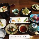 湯の宿くるみや - 料理写真:夕食