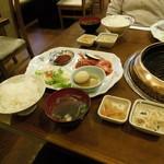 17066175 - カルビ焼肉定食