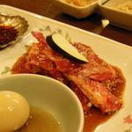 17066187 - カルビ焼肉定食(アップ)