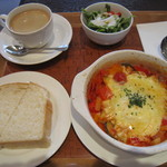 サンドイッチカフェ リール - アクアコッタのセット