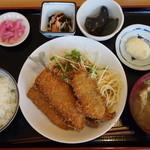 大黒食堂 - 料理写真:アジフライ定食