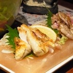 とり鉄 - 2013年1月 会津地鶏の炙りたたき