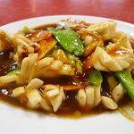 味仙 - イカのうま煮