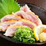 焼鳥とり萬 - 【朝挽】 梅鶏ももタタキ
