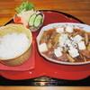 馬美舞辺母 - 料理写真:コラーゲンいっぱいの牛すじ煮込み(北海道産)ランチンチセット1100円 大人気です。