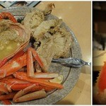 17070399 - 松葉蟹(二枚皮)ボイル \2800 調理後