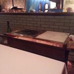 アラスカ - このテーブルでパフォーマンスが始まります。