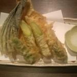 17073155 - 夏野菜と旬魚の天ぷら(1,500円)